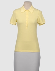 Jeans Les Copains Polo Shirts Light Yellow