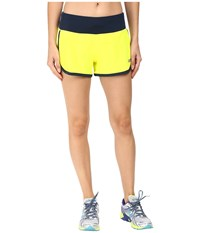 New Balance Impact 3 Shorts Firefly Galaxy Women's Shorts Yellow