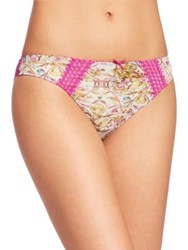 Aubade Idylle Parisian Italian Cut Brief Pink Princess