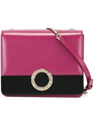'Bulgari Bulgari' Signature Bag Pink And Purple