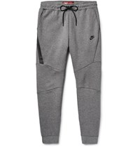 Nike Lim Fit Tapered Cotton Blend Tech Fleece Weatpant Anthracite