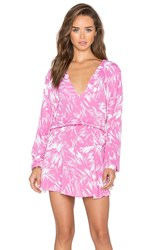 Karina Grimaldi Pilar Mini Dress Pink