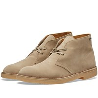 Clarks Originals Gore Tex Desert Boot Brown