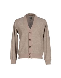 Eleventy Knitwear Cardigans Men Dove Grey