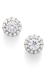 Nordstrom Cluster 0.50Ct Tw Cubic Zirconia Stud Earrings Silver