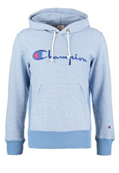 Champion Reverse Weave Hoodie Mottled Light Blue
