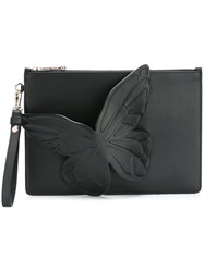 Sophia Webster Butterfly Clutch Black