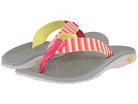 Chaco Flip Ecotread Basket Rouge Women's Shoes Pink