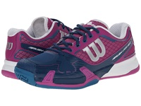 Wilson Rush Pro 2.0 Peony Teal Women's Tennis Shoes Blue