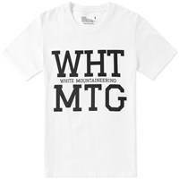 White Mountaineering Wht Mtg Tee White