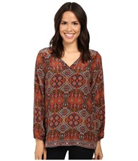 Tolani Piper Top Spice Women's Clothing Red