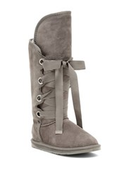 Australia Luxe Collective Bedouin Genuine Sheepskin Tall Boot Gray