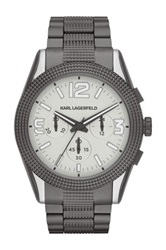 Karl Lagerfeld Men's Kurator Bracelet Watch No Color