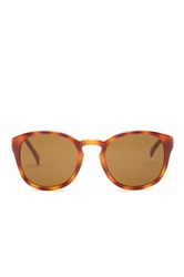 Cole Haan Men's Wayfarer Plastic Sunglasses Orange