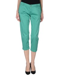 40Weft Trousers 3 4 Length Trousers Women Green