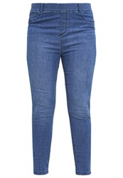 Dorothy Perkins Curve Slim Fit Jeans Blue Light Blue