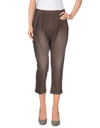 Met And Friends Trousers 3 4 Length Trousers Women Light Brown