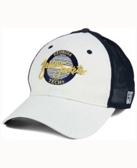Game Georgia Tech Yellow Jackets Circle Stretch Cap White Navy
