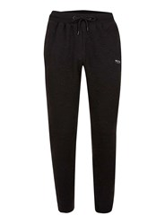 Topman Nicce Black Quilted Joggers