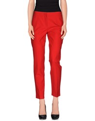 Dolce And Gabbana Trousers Casual Trousers Women Red