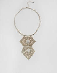 Oasis Statement Necklace Gold