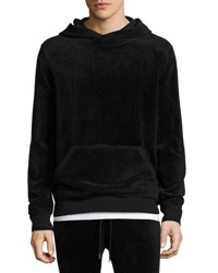 Atm Anthony Thomas Melillo Velour Hooded Sweatshirt Black