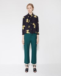 Marni Tailored Trouser Spherical Green