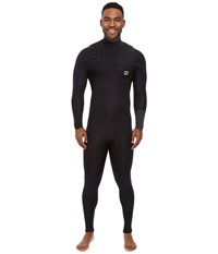 Billabong 302 Revolution Tribong Short Sleeve Chest Zip Wetsuit Black Men's Wetsuits One Piece
