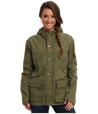 Fj Llr Ven Greenland Jacket Green Women's Coat