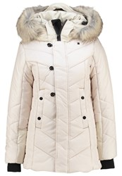 G Star Gstar Alaska Fur Hdd Coat Winter Jacket Whitebait Beige