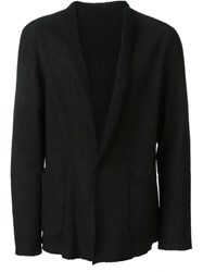Salvatore Santoro Collarless Blazer Black