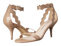 Chinese Laundry Rubie Scalloped Sandal Nude High Heels Beige