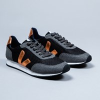 Veja Women's Black And Copper Arcade Trainers