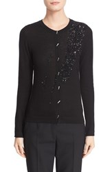 Women's Prabal Gurung Sequin Embellished Cashmere Cardigan