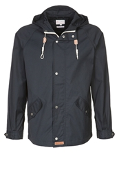 Knowledge Cotton Apparel Summer Jacket Blau Dark Blue