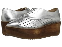 Cordani Bruno Silver Leather Women's Shoes