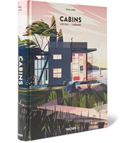 Taschen Cabins Hardcover Book Red