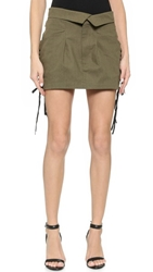 Ronny Kobo Caeli Skirt Safari Green