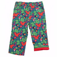 Toby Tiger Squirrel Trousers Red Blue Green