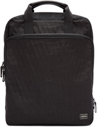 Porter Black Hybrid Brief Ruck Backpack