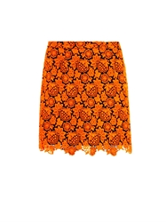 Christopher Kane Floral Lace Mini Skirt