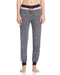 Dkny Intimates Jogger Pants Black Abstract