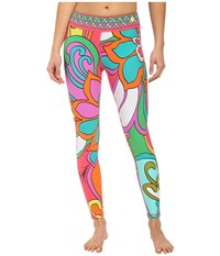 Trina Turk Wanderlust Full Length Leggings Multi Women's Workout