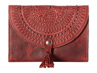 Patricia Nash Colli Wallet Berry Red Wallet Handbags