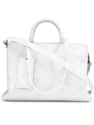 Marsell Multiple Handles Shoulder Bag White