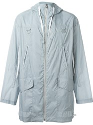 Kenzo Hooded Jacket Grey