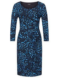 Precis Petite Printed Jersey Dress Blue