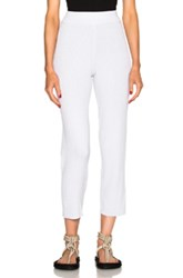 Baja East Cropped Pants In Metallics