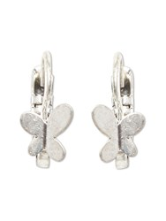 White Stuff Bonnie Butterfly Drop Earring Silver