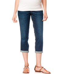 Motherhood Maternity Cropped Jeans Dark Wash